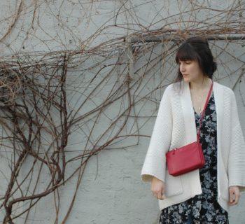 Outfit // Kimono dress + Closed Pedal Pusher + Céline Trio bag