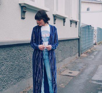 Outfit // H&M studio velvet dress + vintage Levi's + Asos patent-leather booties