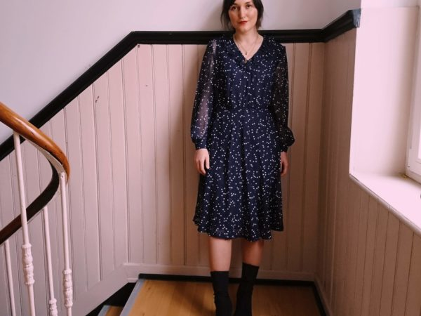 Vintage Midi Dress Mididress
